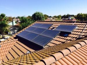 Solar Panel Dirty